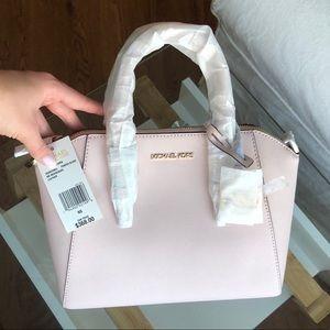 Michael Kors Light Pink Leather Satchel💗